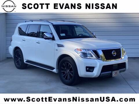 2020 Nissan Armada for sale at Scott Evans Nissan in Carrollton GA
