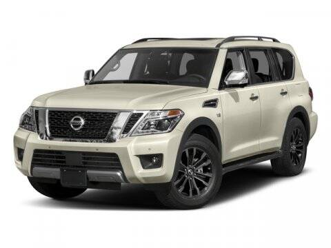 2017 Nissan Armada for sale at Scott Evans Nissan in Carrollton GA