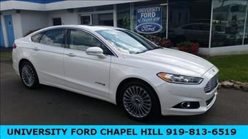 2014 Ford Fusion Hybrid for sale in Chapel Hill, NC