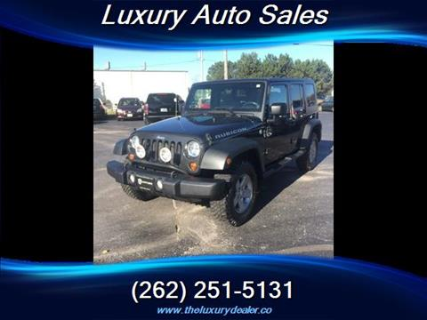 2010 Jeep Wrangler Unlimited for sale in Lannon, WI