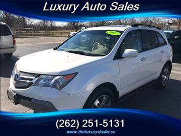 2007 Acura MDX for sale in Lannon, WI