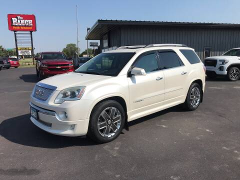 2011 GMC Acadia for sale at Welcome Motor Co in Fairmont MN