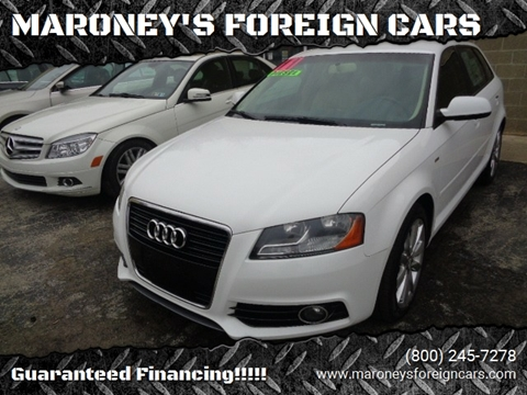 Is Audi A Foreign Car >> Audi For Sale In Smithton Pa Maroney S Foreign Cars