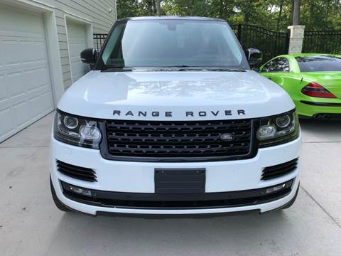 2014 Land Rover Range Rover for sale at A & R Motors in Richmond VA