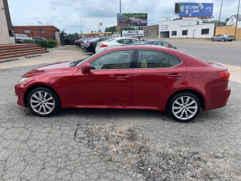 2008 Lexus IS 250 for sale at A & R Motors in Richmond VA