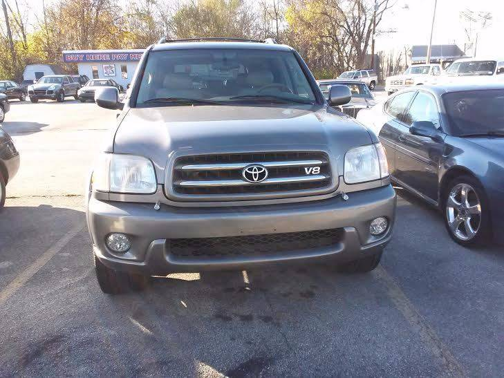 2003 Toyota Sequoia Limited 4WD 4dr SUV - Bedford OH