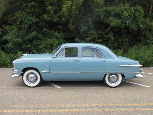 1951 Ford Deluxe Custom Sedan,  only 56,000 miles - Pittsburgh PA