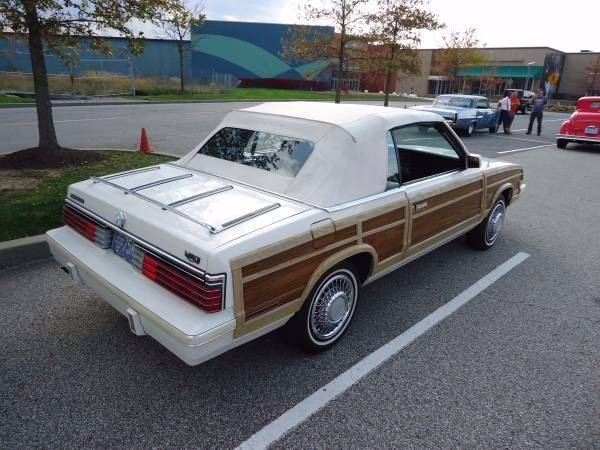 1984 Chrysler Le Baron Mark Cross Town and Country 2dr Convertible - Pittsburgh PA