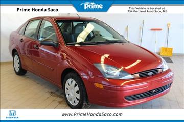 2004 Ford Focus for sale in Saco, ME