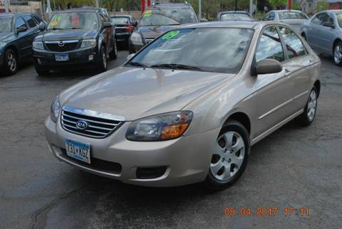 2009 Kia Spectra for sale at Time Motor Sales in Minneapolis MN