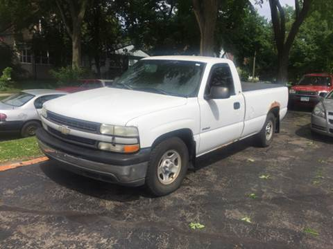 2002 Chevrolet Silverado 1500 for sale at Time Motor Sales in Minneapolis MN