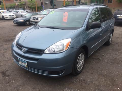 2005 Toyota Sienna for sale at Time Motor Sales in Minneapolis MN