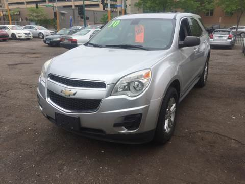 2010 Chevrolet Equinox for sale at Time Motor Sales in Minneapolis MN