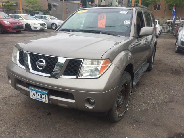 2007 Nissan Pathfinder for sale at Time Motor Sales in Minneapolis MN