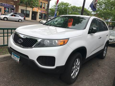 2011 Kia Sorento for sale at Time Motor Sales in Minneapolis MN