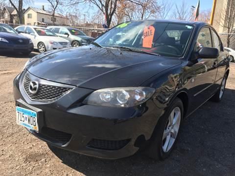 2006 Mazda MAZDA3 for sale at Time Motor Sales in Minneapolis MN