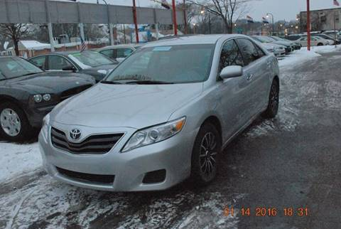 2010 Toyota Camry for sale at Time Motor Sales in Minneapolis MN