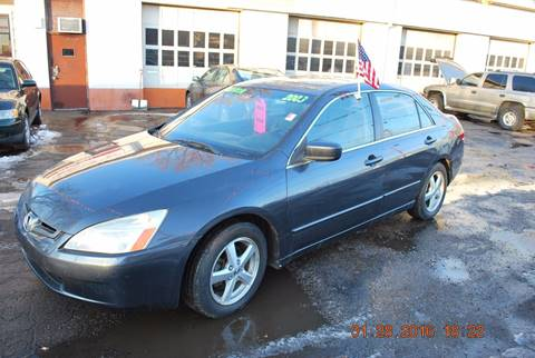 2003 Honda Accord for sale at Time Motor Sales in Minneapolis MN