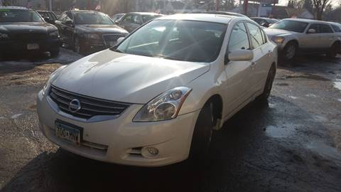 2010 Nissan Altima for sale at Time Motor Sales in Minneapolis MN