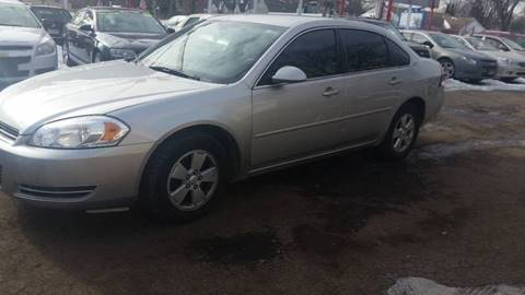 2007 Chevrolet Impala for sale at Time Motor Sales in Minneapolis MN