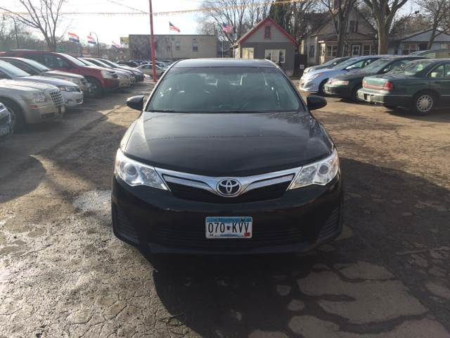 2012 Toyota Camry for sale at Time Motor Sales in Minneapolis MN