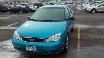 2007 Ford Focus for sale at Time Motor Sales in Minneapolis MN
