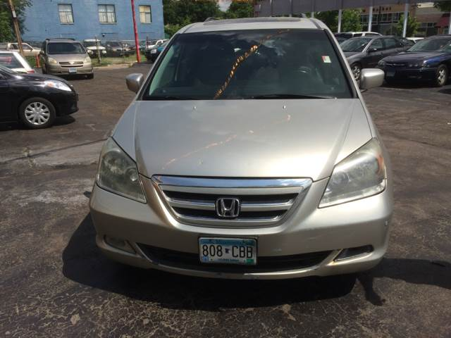 2005 Honda Odyssey for sale at Time Motor Sales in Minneapolis MN