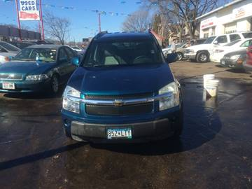2006 Chevrolet Equinox for sale at Time Motor Sales in Minneapolis MN