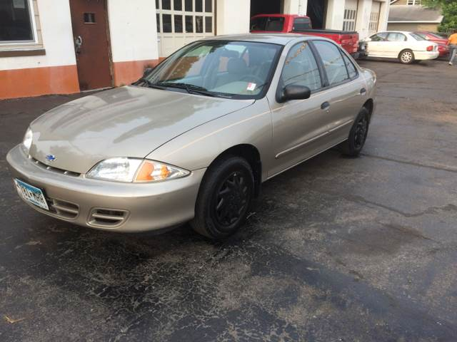 2001 Chevrolet Cavalier for sale at Time Motor Sales in Minneapolis MN