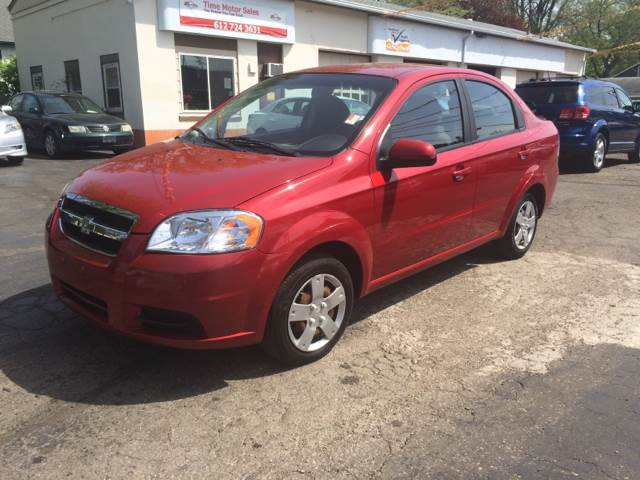 2011 Chevrolet Aveo for sale at Time Motor Sales in Minneapolis MN