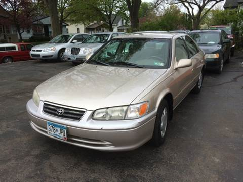 2000 Toyota Camry for sale at Time Motor Sales in Minneapolis MN