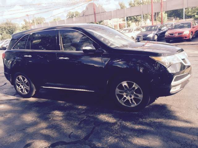 2010 Acura MDX for sale at Time Motor Sales in Minneapolis MN