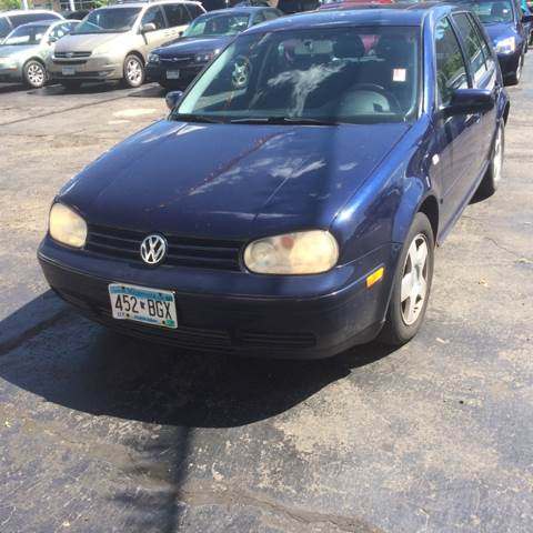 2002 Volkswagen Golf for sale at Time Motor Sales in Minneapolis MN