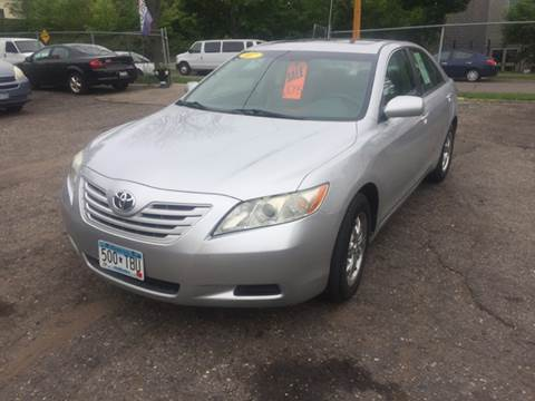 2007 Toyota Camry for sale at Time Motor Sales in Minneapolis MN