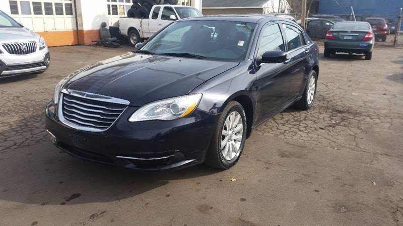 2011 Chrysler 200 for sale at Time Motor Sales in Minneapolis MN