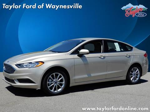 2017 Ford Fusion for sale in Waynesville, NC