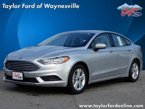 2018 Ford Fusion for sale in Waynesville, NC