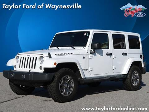 2017 Jeep Wrangler Unlimited for sale in Waynesville, NC