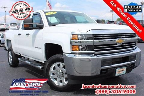 2016 Chevrolet Silverado 2500HD for sale in Sparta, TN