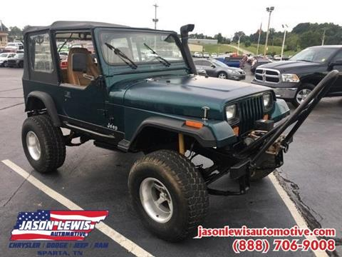 1995 Jeep Wrangler for sale in Sparta, TN