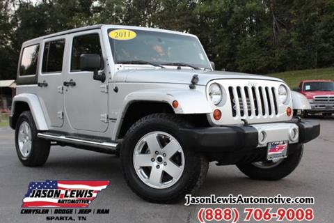 2011 Jeep Wrangler Unlimited for sale in Sparta, TN