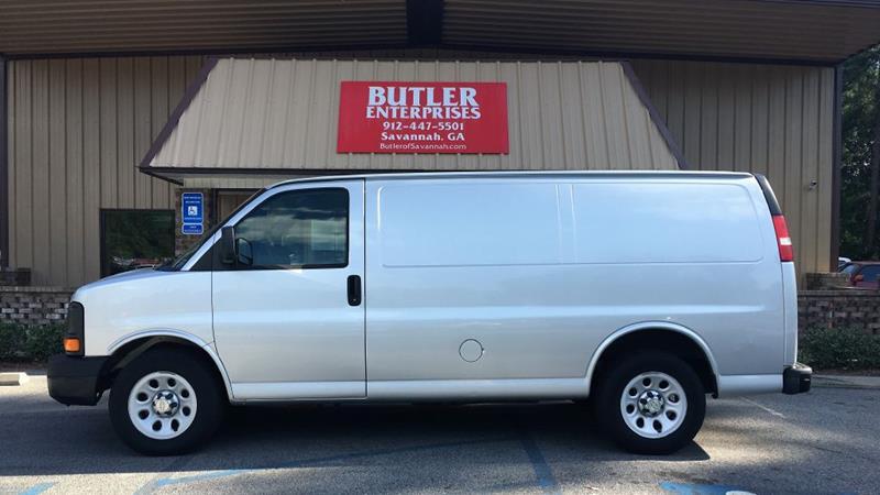 2010 Chevrolet Express Cargo 1500 3dr Cargo Van In Savannah Ga