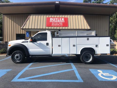 2012 Ford F-450 Super Duty for sale in Savannah, GA