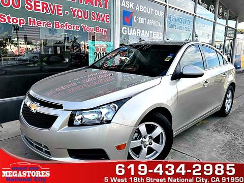 2014 Chevrolet Cruze for sale in National City CA