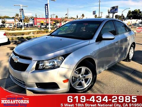 2012 Chevrolet Cruze for sale in National City CA