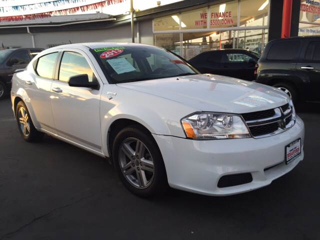 2013 Dodge Avenger for sale at VR Automobiles in National City CA