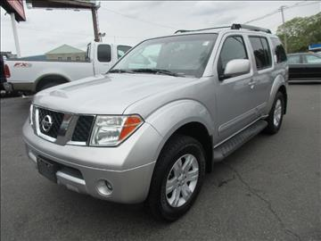 2005 Nissan Pathfinder for sale in Worcester, MA