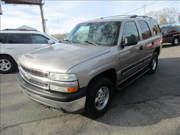 2002 Chevrolet Tahoe for sale in Worcester, MA