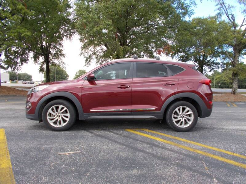 2016 Hyundai Tucson for sale at A & P Automotive in Montgomery AL