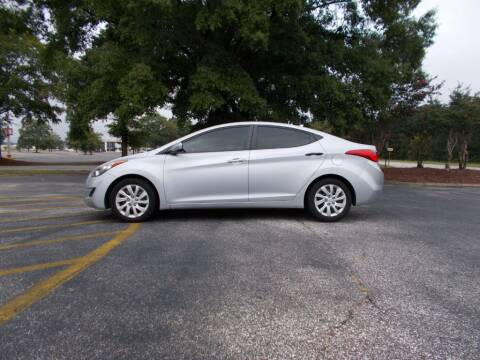 2012 Hyundai Elantra for sale at A & P Automotive in Montgomery AL